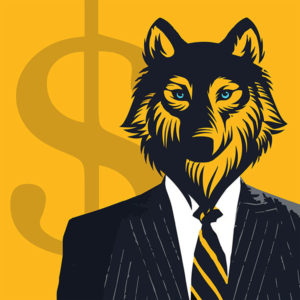 A la loupe, Le Loup de Wall Street, Film, Poster